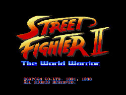 Street fighter II - The World Warrior (1991. Capcom)